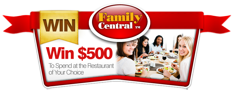 Win $500 To Spend at the Restaurant of your choice!