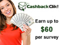 Earn cash online at Cashback Clik
