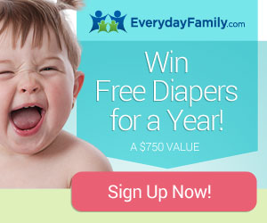 Win FREE Diapers for a Year