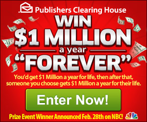 Enter to Win 1 Million a Week Forever