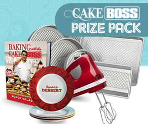Win a Cake Boss Prize Pack
