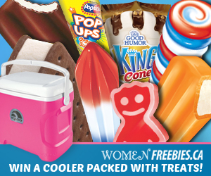 WomenFreebies Cooler of Cool Treats Giveaway