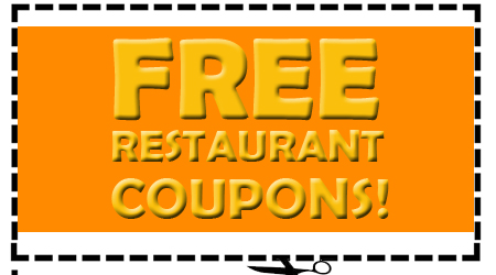 FREE Stuff at Restaurants with Coupons