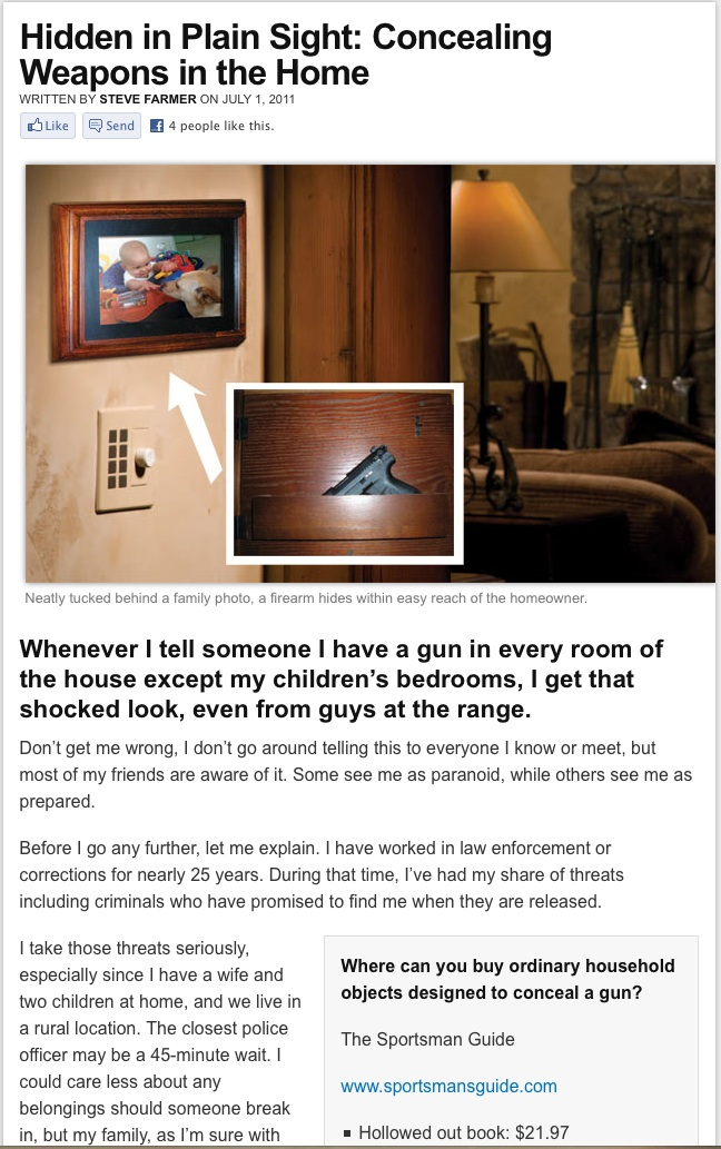 Concealed Carry Magazine Article