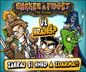 Klikni a hrej Shakes & Fidget CZ zdarma!