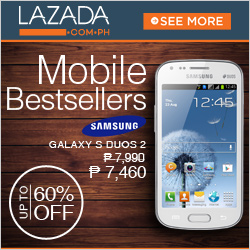 Lazada Philippines mobile bestsellers