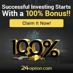 24Option Binary Options Brokers Review Image