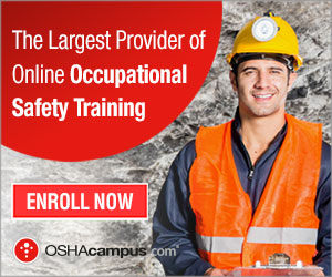 OSHA 10 and 30 Hour Construction Safety Certification
