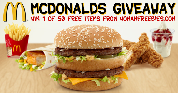 womanfreebies sweepstakes womanfreebies mcdonald s giveaway mumblebee inc 9082