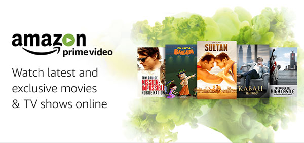 Amazon Prime Video - Unlimited streaming of movies and TV shows, now available in India