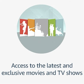 Access to the latest and exclusive movies and TV shows