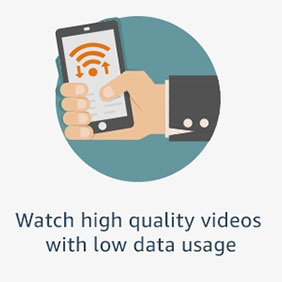 Watch high quality videos with low data usage