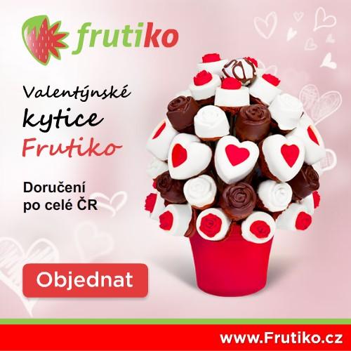 Ovocné a čokoládové kytice Frutiko