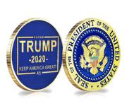 Exclusive Free Silver Trump Coin