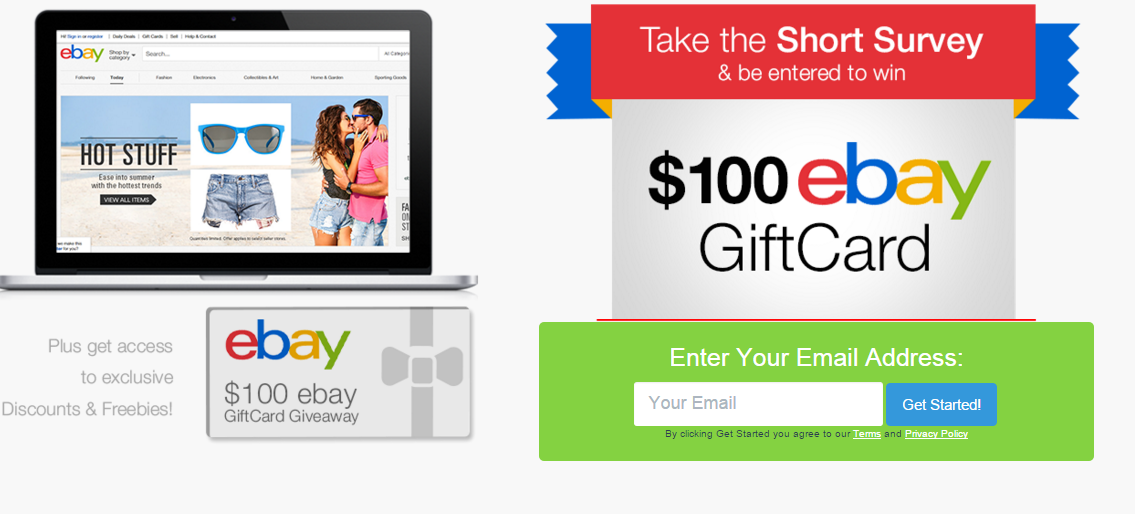 100$ eBay Gift Card Giveaway - US