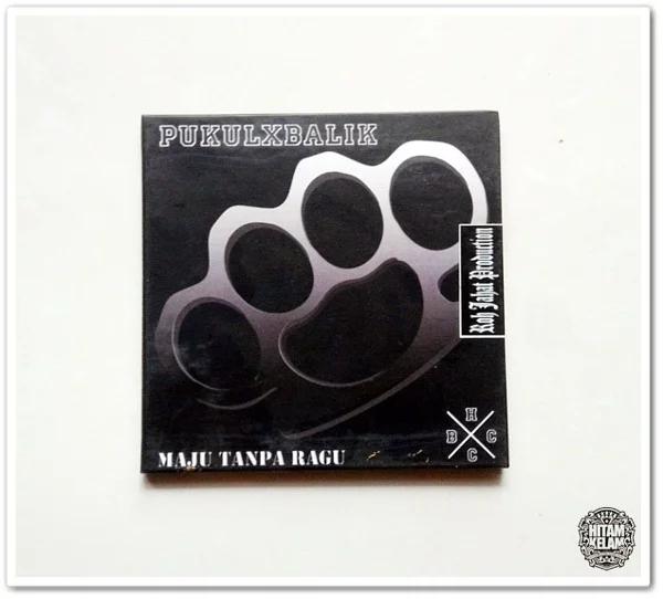 Album fisik Pukulxbalik- Maju Tanpa Ragu