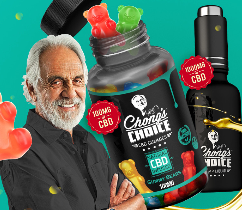 Landing Page - Chong's Choice Gummy Bears and Oil Bundle