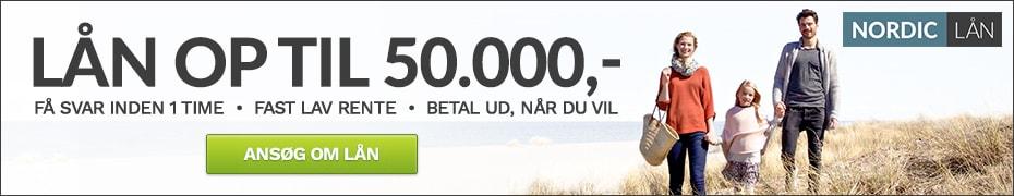 Ansøg om et lån hos NordicLån