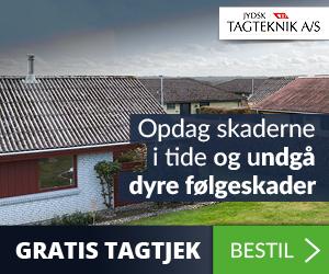 Jydsk Tagteknik Gratis tagtjek