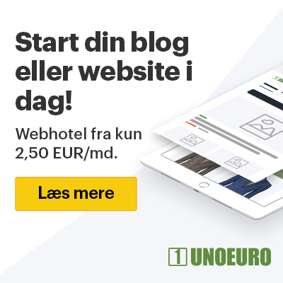 Start din blog eller website i dag