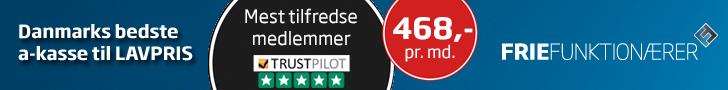 728x90 frie funktionærer billig akasse
