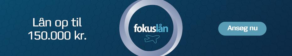 Fokuslån låne op til 150.000 kr