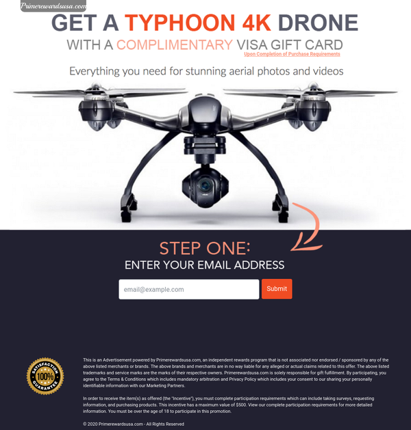 Typhoon 4K Drone | US - Incent
