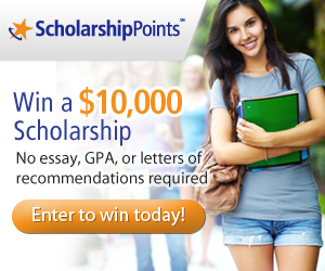 Win 10k Scholarship Ad Offer