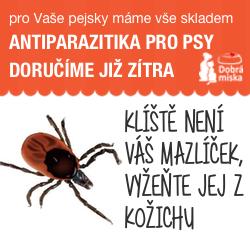 Antiparazitika pro psy v e-shopu dobra-miska.cz