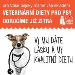 Veterinární diety pro psy v e-shopu dobra-miska.cz