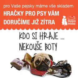 Hračky pro psy v e-shopu dobra-miska.cz