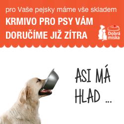 Krmivo pro psy v e-shopu dobra-miska.cz