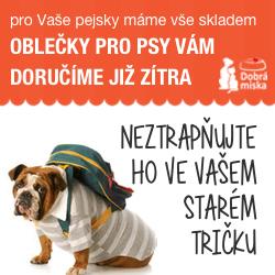 Oblečky pro psy v e-shopu dobra-miska.cz