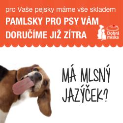 Pamlsky pro psy v e-shopu dobra-miska.cz