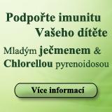 Podpořte imunitu Vašeho dítěte mladým ječmenem a chlorellou pyrenoidosou