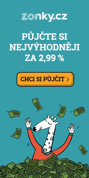 Banner půjčka Zonky
