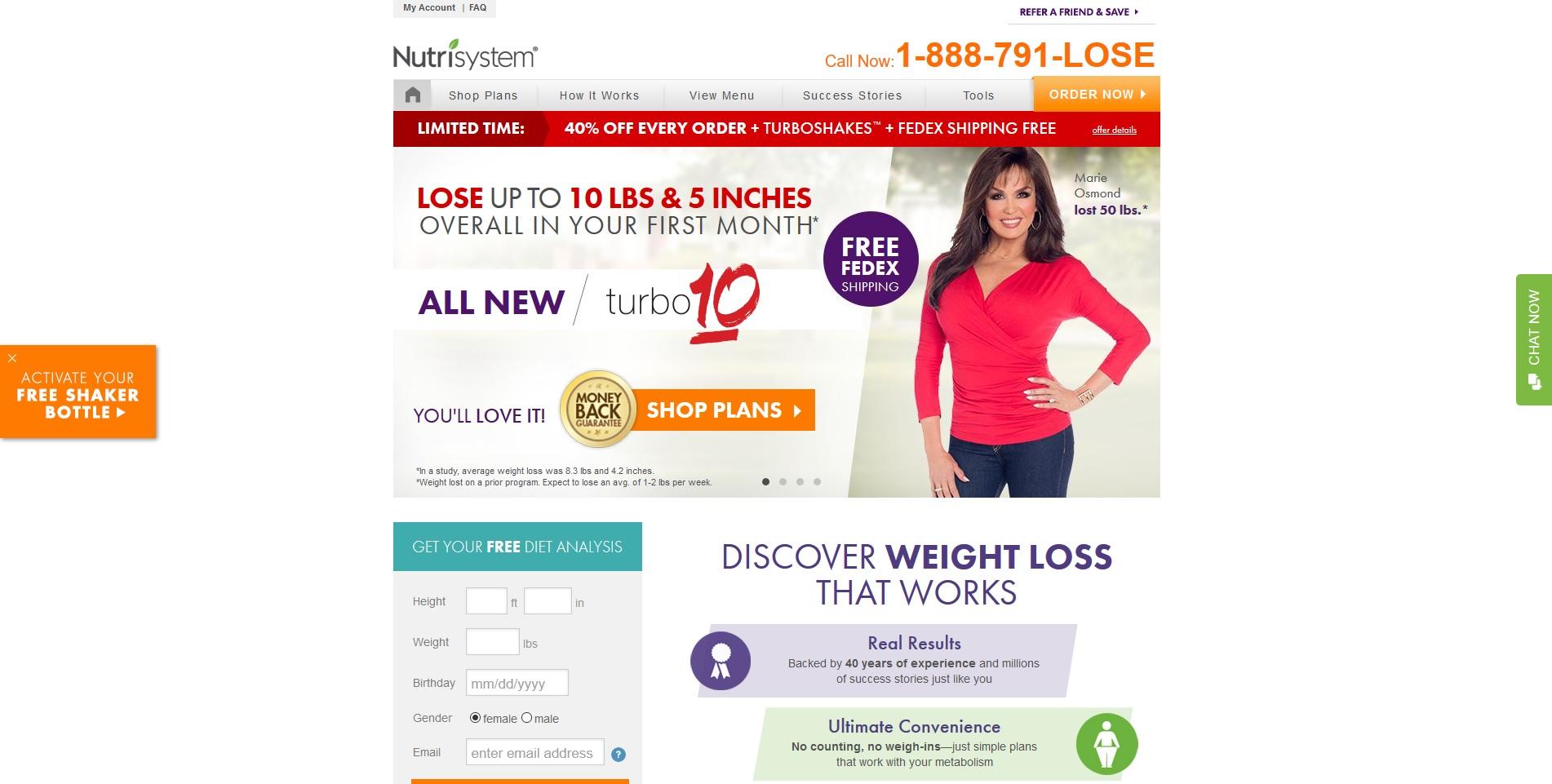 Nutrisystem - Health/Weightloss/Diet - US