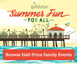 free 5 credit to goldstar for cheap event tickets