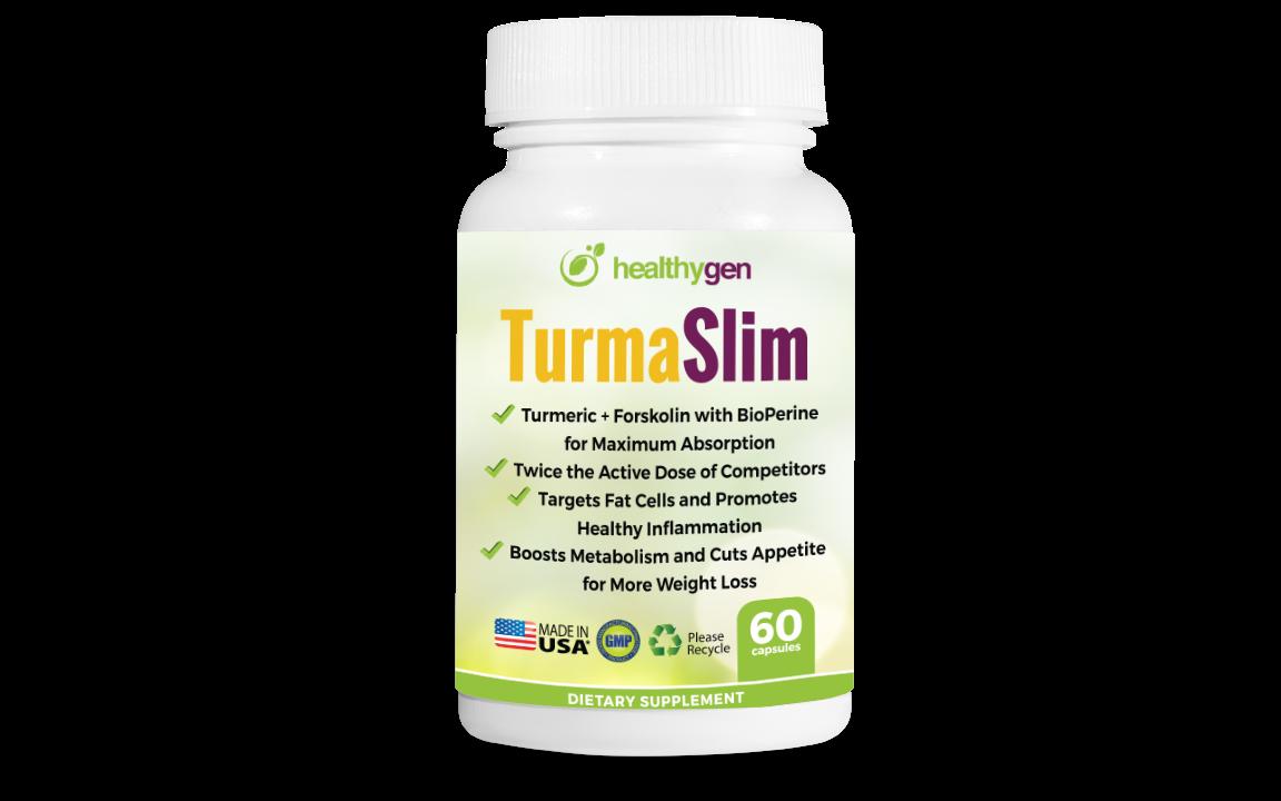 TurmaSlim - Turmeric + Forskolin Weight Loss Program