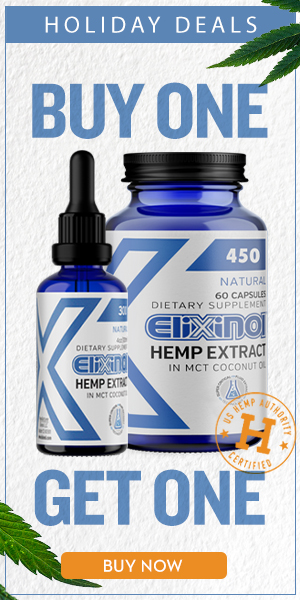 buy one get one free sale on Elixinol cbd