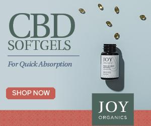 Joy Organics CBD Soft Gels