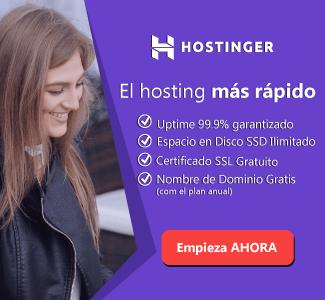 Hostinger hosting recomendado