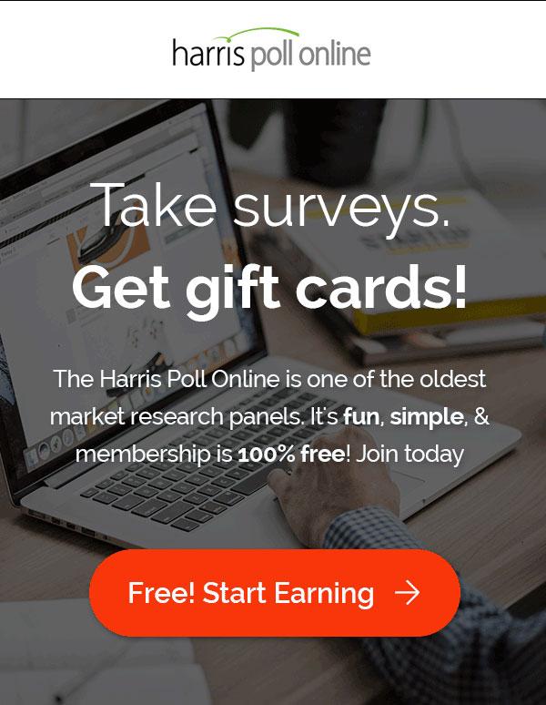 harris poll online