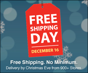 its finally here free shipping day - Pizza Delivery On Christmas Day