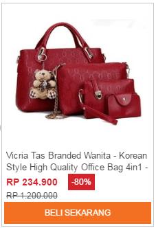 Tas Selempang Branded Wanita High Quality - Office Bag - Tas Kantor