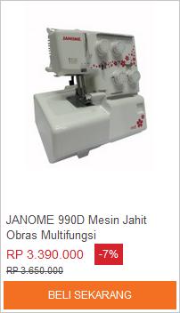 Beli mesin obras murah di lazada.co.id