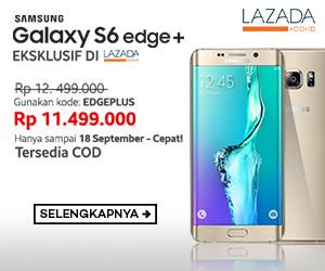 Spesifikasi dan Harga Samsung Galaxy S6 Edge Plus, Pre-Order Pertama di Indonesia 27 Agustus 2015