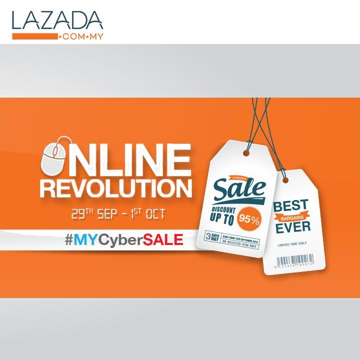 MY MyCyberSale 720x720 24092014 Rebet Khas RM50 #MYCyberSALE Lazada