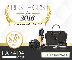 Promo 2016 Produk Terbaik Lazada Diskon UpTo 88 Selalutekno