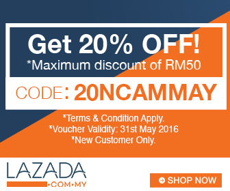 Lazada voucher Code May 2016